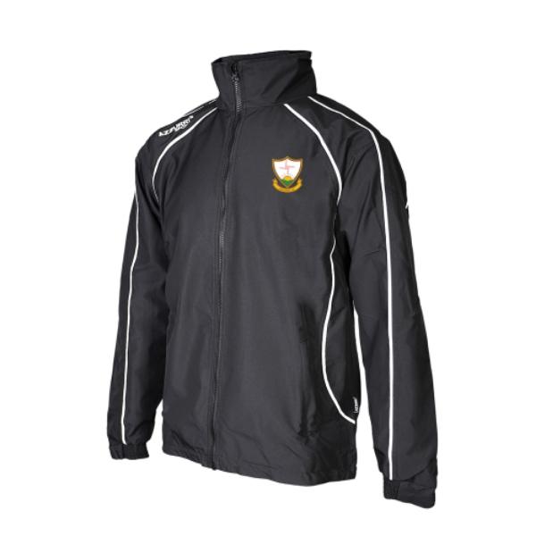 Picture of Suncroft AC Barrow Rain Jacket Black-Black-White
