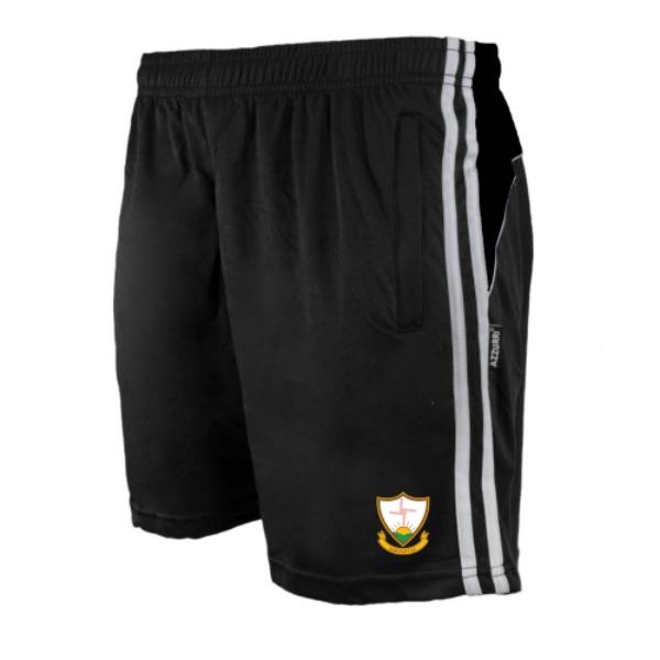 Picture of Suncroft AC Brooklyn Leisure Shorts Black-Black-White