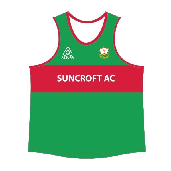 Picture of Suncroft AC Singlet Emerald-Red
