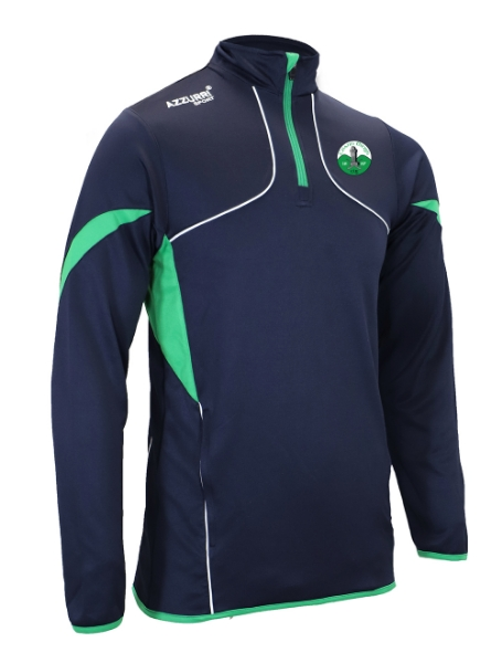 Picture of Kinnity Camogie Club Kids Carragh Zippy Navy-Emerald-White