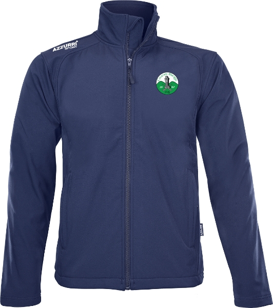 Picture of Kinnity Camogie Club Soft Shell Fleece Navy