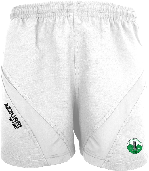 Picture of Kinnity Camogie Club Gym Shorts White-White