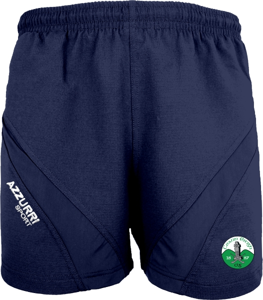 Picture of Kinnity Camogie Club Gym Shorts Navy-Navy