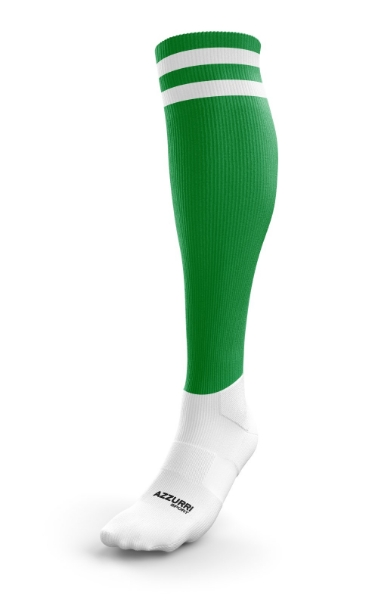 Picture of Kinnity Camogie Club Kids Full Socks Emerald-White
