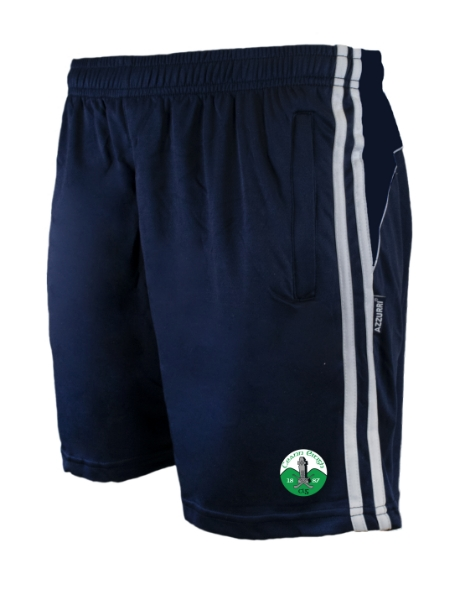 Picture of Kinnity Camogie Club Kids Brooklyn Leisure Shorts Navy-Navy-White