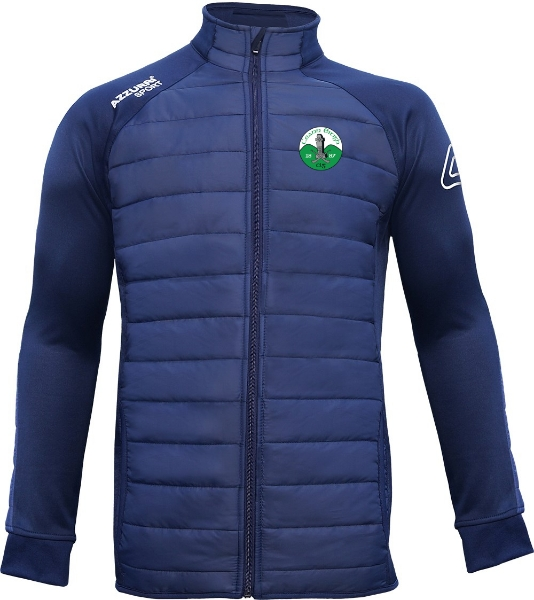 Picture of Kinnity Camogie Club Padded Jacket Navy-Navy